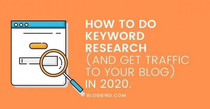 Do Keyword Research